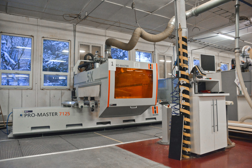 4x five-axis CNC HolzHer